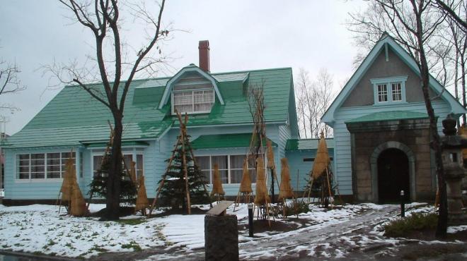 故竹鶴政孝さんが住んでいた「旧竹鶴邸」。現在は資料館として一部利用されている=登録有形文化財
