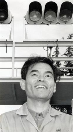 日亜化学工業時代の中村修二さん(1996年)