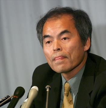 中村修二・米カリフォルニア大教授=2005年1月12日