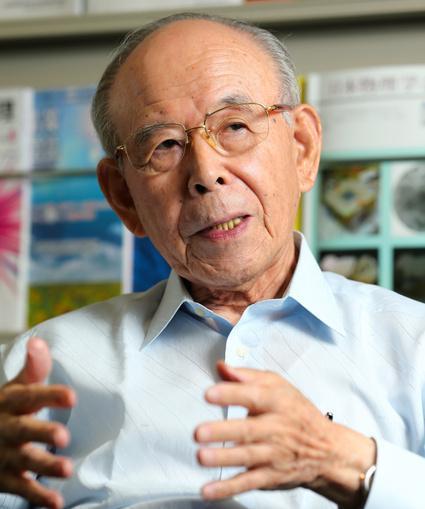 赤崎勇・名城大教授(85)