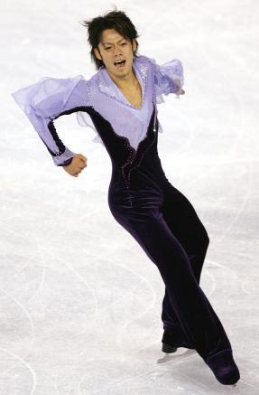 米で初優勝を果たした時の演技=2005年10月21日、アトランティックシティー、藤脇正真