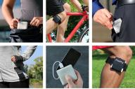バッグやポケットに入れておくだけ、自転車で身につけるだけ
