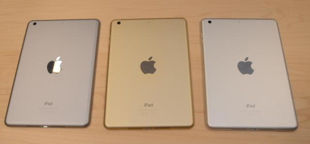 色の種類は、シルバーとスペースグレーに、新たにゴールドが加わりました