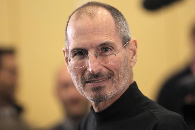 米アップル創業者のスティーブ・ジョブズ(1955年2月24日-2011年10月5日)