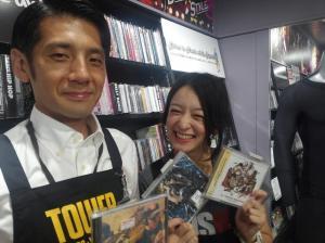 吉田大輔さん(左)と高山都さん
