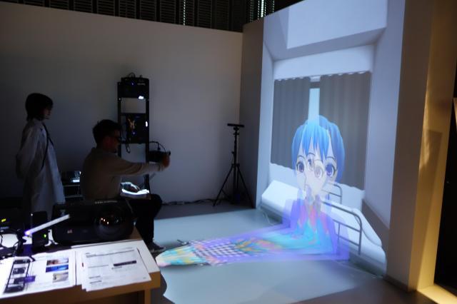 3D技術で「お医者さんごっこ」をするアトラクション