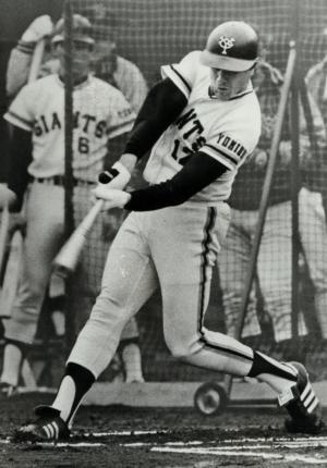 巨人のゲーリー・トマソン外野手