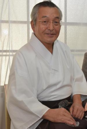 広田神社宮司の西井璋さん