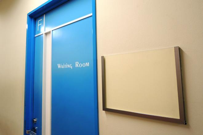 32年間もの間タモリさん専用として使われていた控室の入り口