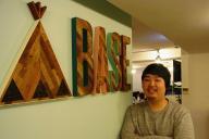 BASEの鶴岡裕太CEO。スマホ時代のネットショップを意識したサービスに力を入れる
