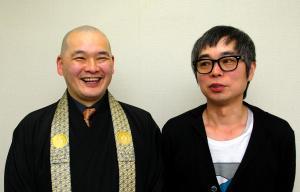 松本大洋さん(右)と永福一成さん