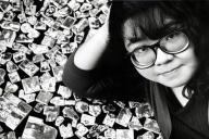 2002年に急逝したナンシー関さん。今もたびたび各地で展覧会が開かれるなど、人気は衰えていない