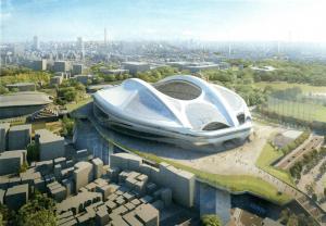 新国立競技場の完成イメージ