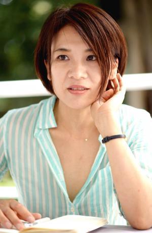北原みのりさん=2014年6月4日、西田裕樹撮影