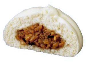 井村屋の看板商品「肉まん」