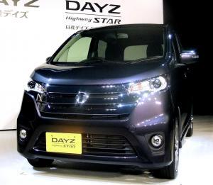 関係を深める三菱との共同開発車、日産DAYZ=2013年6月6日