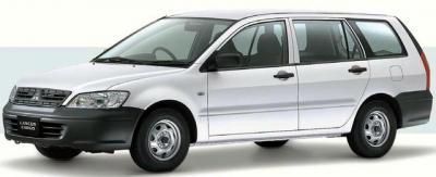 三菱ランサー=三菱自動車提供