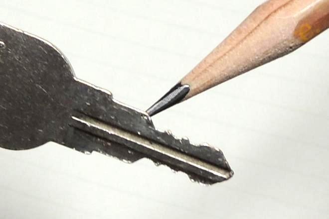 鉛筆の中でも、最も修繕に適した鉛筆があるそう