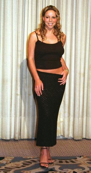 マライア・キャリーさん=1999年11月22日