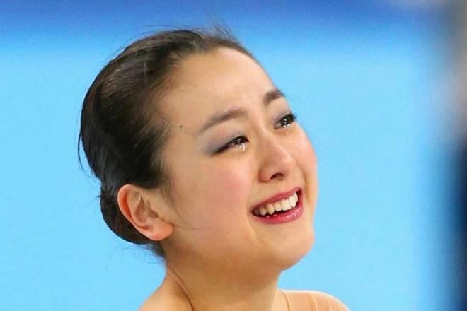 フィギュアスケートの浅田真央