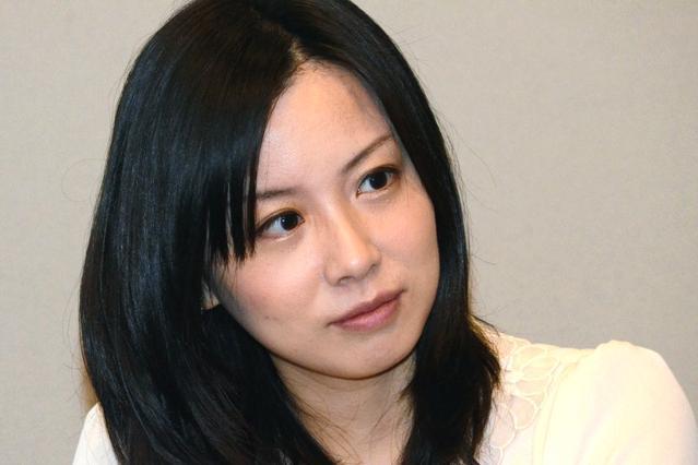 結婚が明らかになった綿矢りささん=2013年12月20日、戸田拓撮影