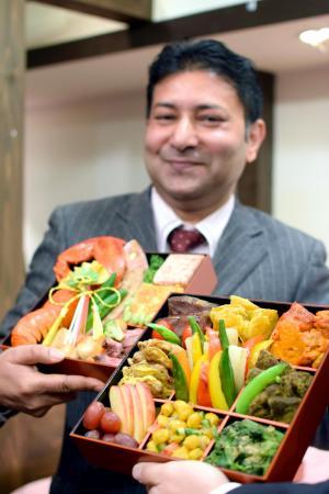 「東京ハラルレストラン」のハラルおせち