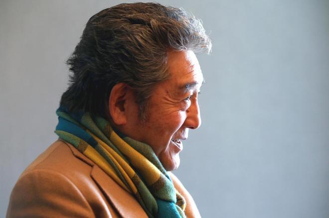 先輩俳優のシワに憧れていたという松方弘樹さん