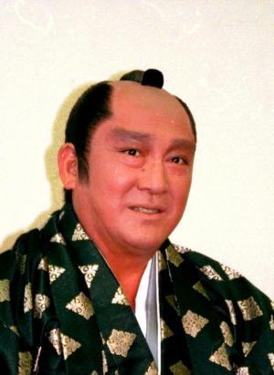 テレビ東京の正月TVドラマで大石内蔵助を演じた=1998年7月27日