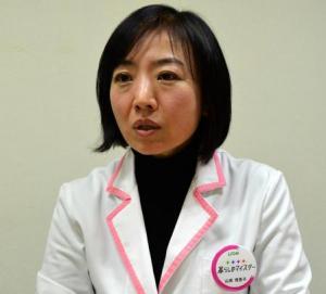 プレッシャー下痢の予防と対処法について話すライオン快適生活研究所のヘルスケアマイスター・山岸恵理子さん