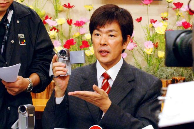 ジャパネットたかた社長を退いた高田明さん=2006年9月4日