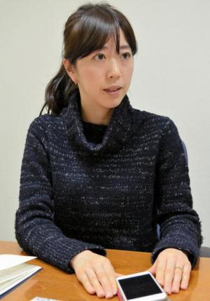 トイレお探しアプリ「@トイレ」を考案したライオン薬品事業部の佐久間鹿奈子さん