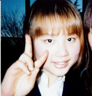 高校時代の鈴木涼美さん=本人提供