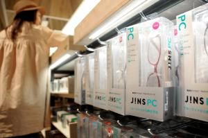 「JINS」の「PCメガネ」