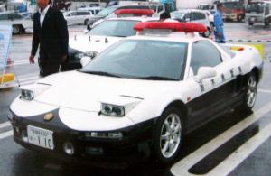 栃木県警のスーパーカーホンダ「NSX」のパトカー
