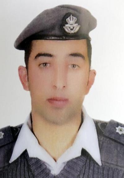 ヨルダン空軍のムアーズ・カサースベ中尉