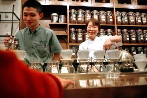 1968年開店の老舗「カフェ・バッハ」