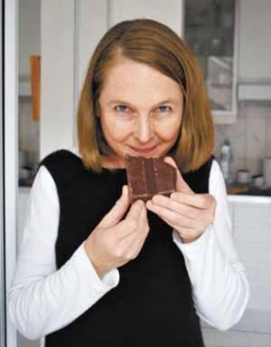チョコレート研究家のクロエ・ドゥートルルーセルさん