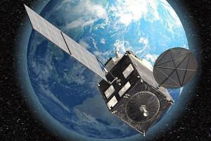 気象衛星「ひまわり8号・9号」のCG=白井政行作製