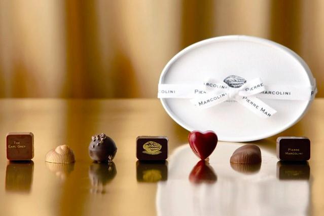 高級チョコとして人気のピエール・マルコリーニのチョコレート