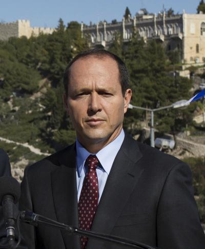 エルサレムのニール・バルカット市長=2013年1月