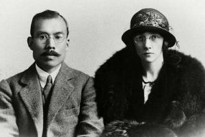 結婚直後の竹鶴政孝・リタ夫妻(1920年ごろ)=アサヒグループホールディングス提供