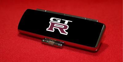 スカイラインGT―R(R34型)のロゴが入った印鑑ケース