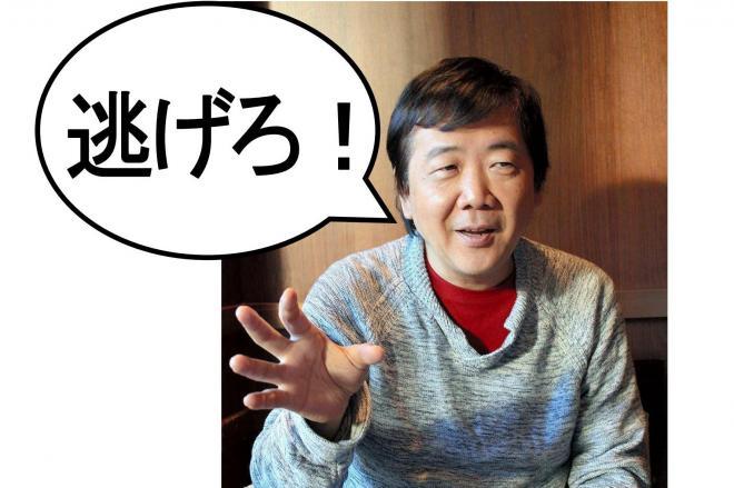 劇作家の鴻上尚史さん。メッセージがいまもネットで拡散し続ける