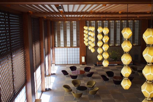 ホテルオークラ東京の本館ロビー