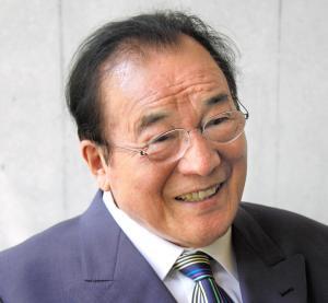 愛川欽也さん=2011年8月