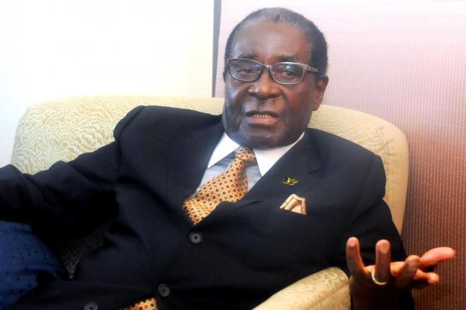 ジンバブエのムガベ大統領=2013年6月2日