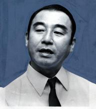 塩月弥栄子さんの再婚相手の塩月正雄さん