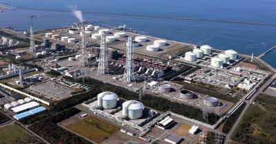 東北電力の東新潟火力発電所=東北電力提供
