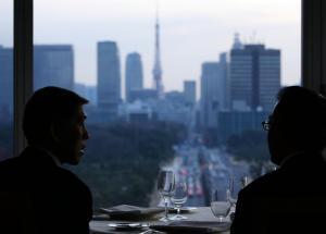 ヘッドハンティングの場として使われることが多いパレスホテル=東京・丸の内