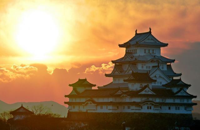 「平成の大修理」を今年3月に終えた姫路城=2015年1月1日